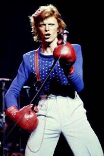 David Bowie - Luvas de Boxe, 1974