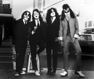 """""""Vestidos para matar"""", Kiss, NYC, 1974"""